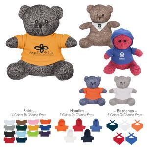 "8.5"" Knitted Plush Bear"