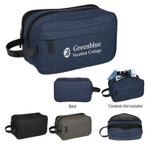 Double Decker Travel Bag with Handle