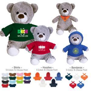 """8.5"""" Velour Teddy Bear"""
