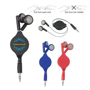 Retractable Travel Ear Buds