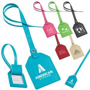 Identity Leatherette Bag Tag
