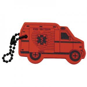 Foam Floating Ambulance Key Tag