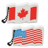 Floating Foam Flag Key Tag