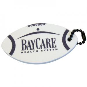 Foam Football Floating Key Tag