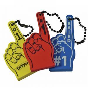 Floating Foam #1 Hand Key Tag
