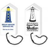 Floating Foam Lighthouse Key Tag