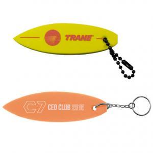 Floating Surfboard Key Tag