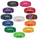 Identity Links Silicone Wristband