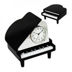 Grand Piano Shaped Clock
