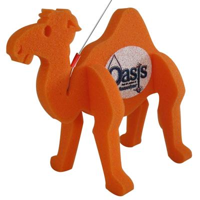 Foam Camel on a Leash
