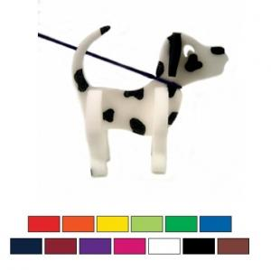 Foam Dalmatian Dog on a Leash