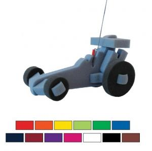 Foam Dragster Racing Car on a Leash