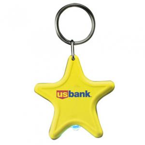 Star Key Tag with Light