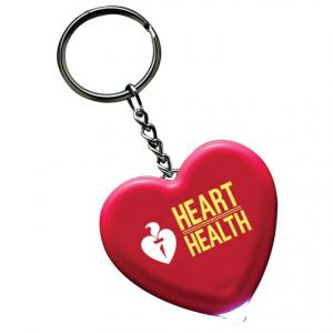 Heart Key Tag with Light