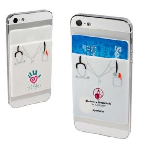 Silicone Doctor Cell Phone Wallet