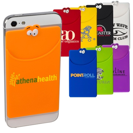Goofy Adhesive Silicone Cell Phone Wallet