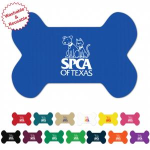 Bone Shaped Vinyl Pet Mats