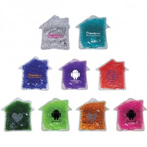 House Shaped Gel Bead Hot/Cold Pack