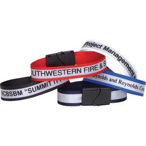 Reflective Wristband with Breakaway Closure