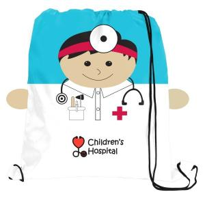 Doctor Pediatric Drawstring Bag