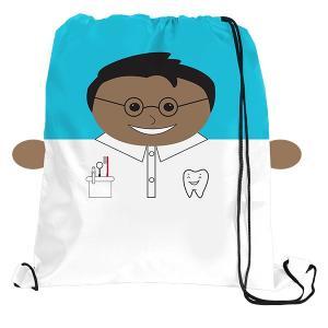 Dentist Sports Drawstring Backpack  Bag