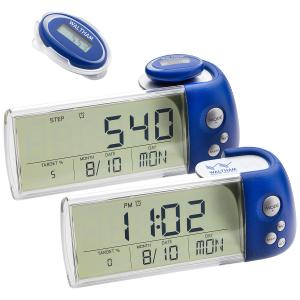 3D Multi-Function Pedometer with Docking Station