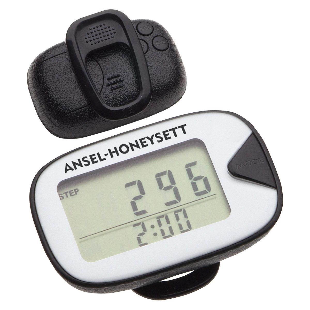 Classic Leather-Like Craft Pedometer