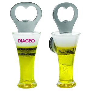 Beer Glass Bottle Opener with Magnet