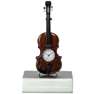 Standing Violin Clock