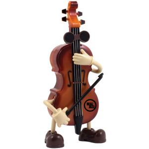 Violin Music Box with Hands & Feet