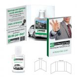Hand Sanitizer Gel With Booklet