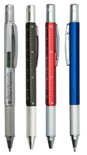 Multi Fuction Tool Pen with Level