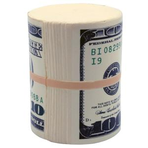 Money Roll Shaped Stress Reliever