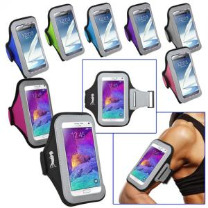 Sport Armband with Large Cellphone Pouch