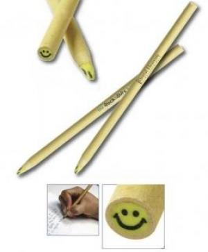 Smile Face Paper Wrapped Eraser Stick