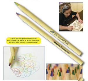 Recycled 4-in-1 Colored Pencil