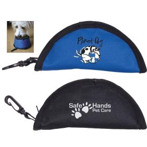 Zip Up Portable Pet Bowl