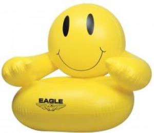 Inflatable Smile Face Chair
