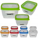 Combination 39 oz. and 21 oz. Nesting Snap Close Lunch Containers