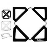 Expandable Silicone Trivet with Metal Frame