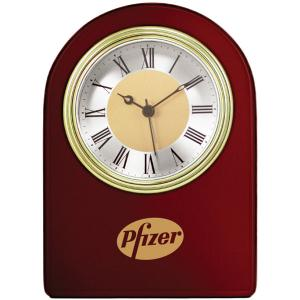 Arched Wooden Clock