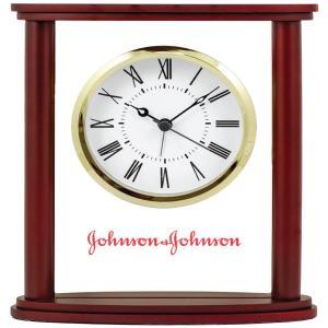 Wood and Glass Alarm Clock