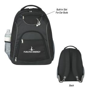 The Metro Laptop/Tablet Backpack with Ear Bud Slot