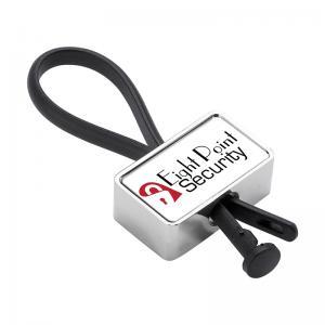 Silicone Loop Metal Key Holder