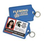 Key Ring ID Holder