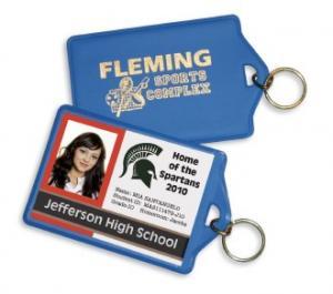 Key Ring ID Holder
