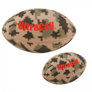 "5"" Camouflage Football Stress Reliever"