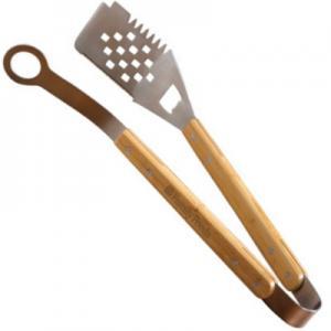 BBQ Bamboo Tong and Spatula Set