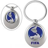 Spinning Sports Keychain