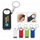 Magnifier with Flash Light Key Chain